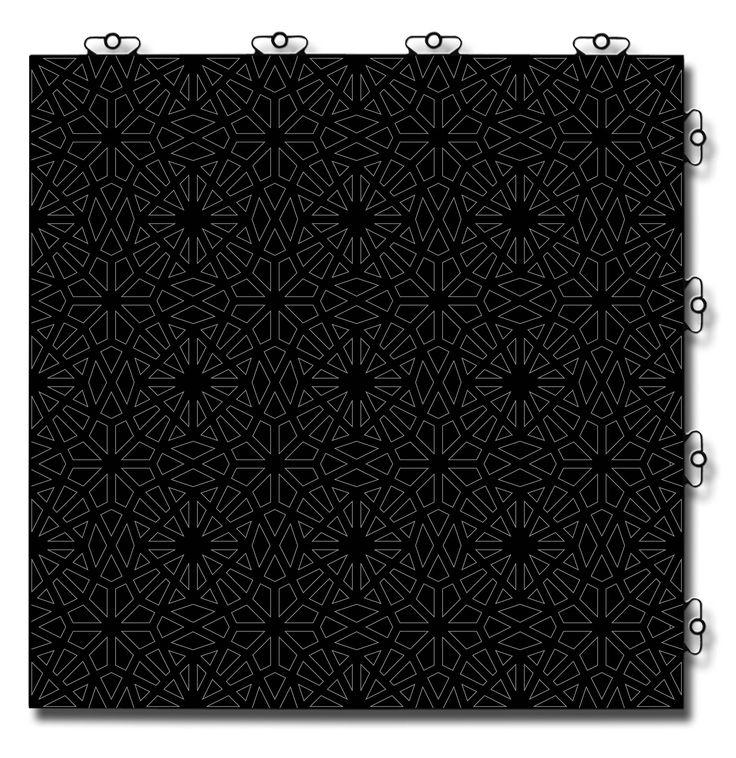 TOP TILE Design: Black Prism
