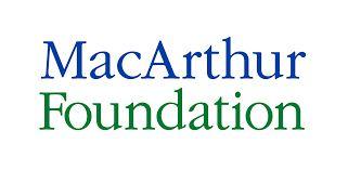 MacArthur Foundation Diana's friend Chris recieved the Fellowhip for his work as a molecular biologist
