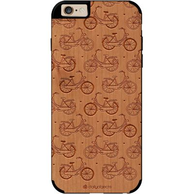 DailyObjects Pastel Bikes Real Wood Cherry Case For iPhone 6 – Buy Online - DailyObjects