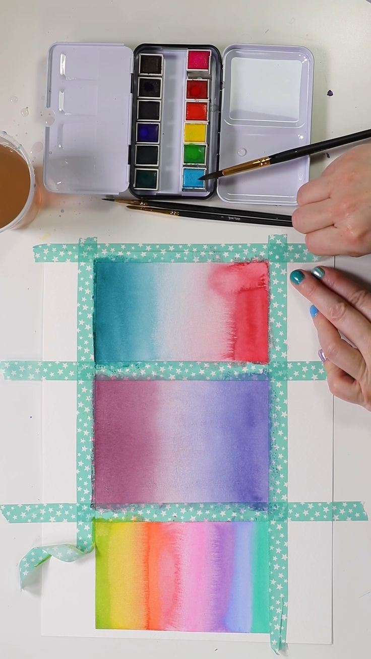 Beautiful Watercolor Gradients