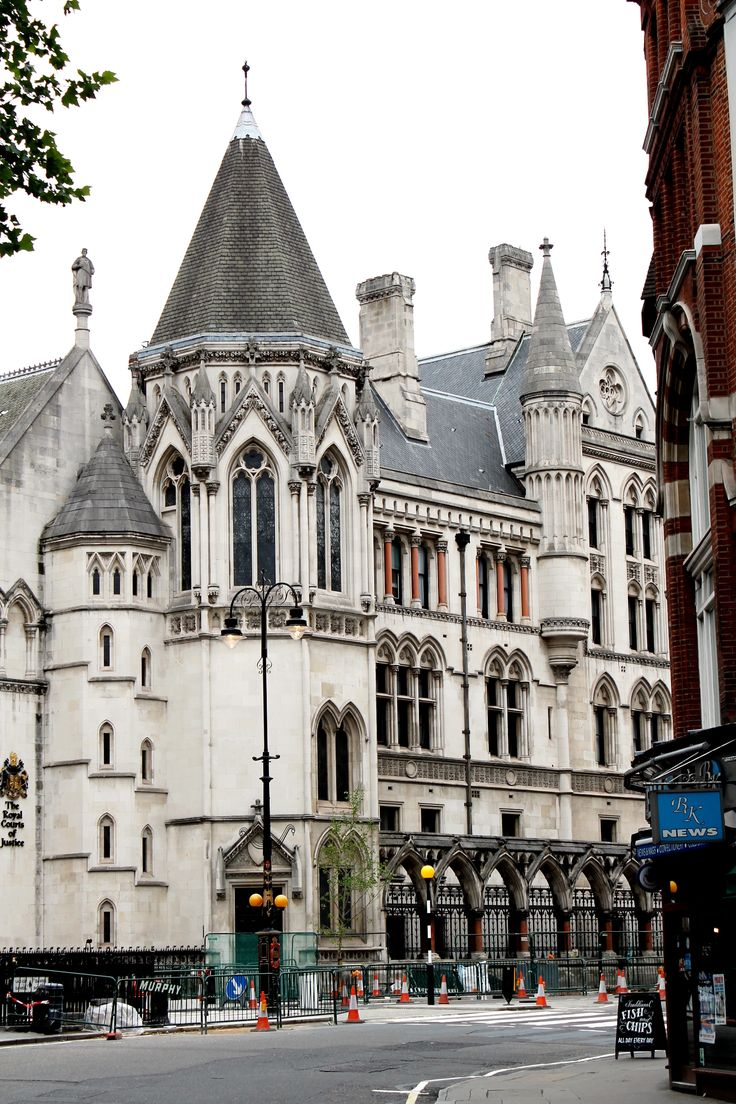 The Royal Courts of Justice,London