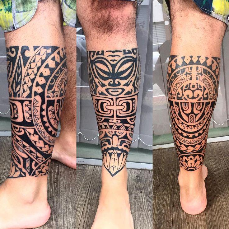 17 melhores ideias sobre tatuagem maori na perna no. Black Bedroom Furniture Sets. Home Design Ideas