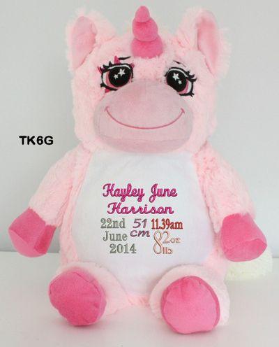 49 best personalised snugubudz images on pinterest angel bear personalised snugabudz pink unicorn birth design personalized babypersonalised giftsbirthskeepsakesbaby giftsteddy bearsunicornstoddlersau negle Images
