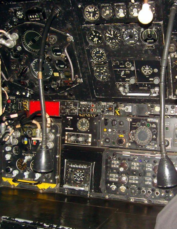 Avro Vulcan B.2 Cockpit