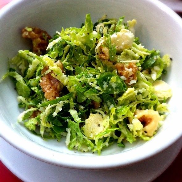Shaved Brussles Sprout Salad @ Buvette