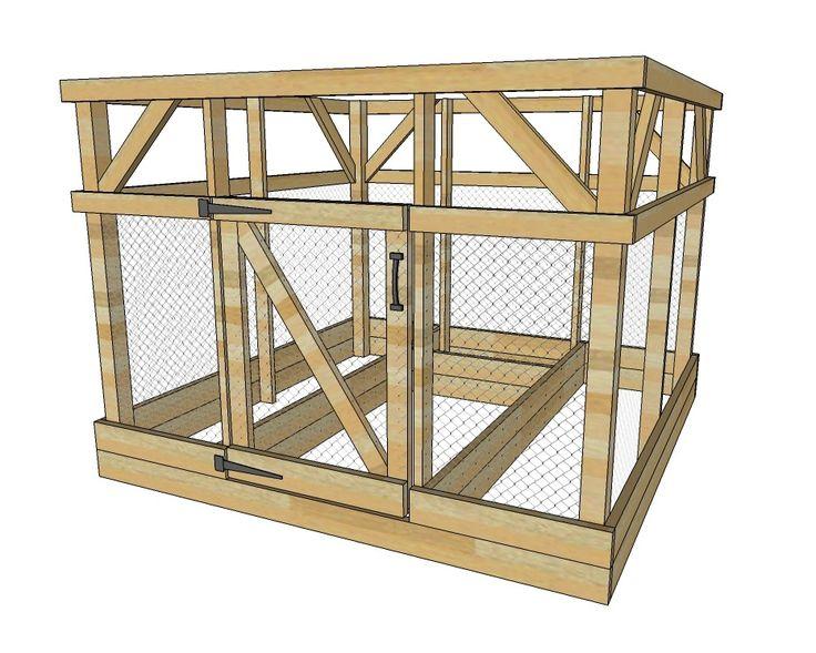 Ana White Build A Garden Enclosure Built By Home Depot