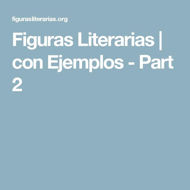 Figuras Literarias | con Ejemplos - Part 2