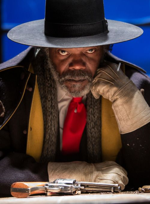 "filmhall: "" Samuel L Jackson in The Hateful Eight """