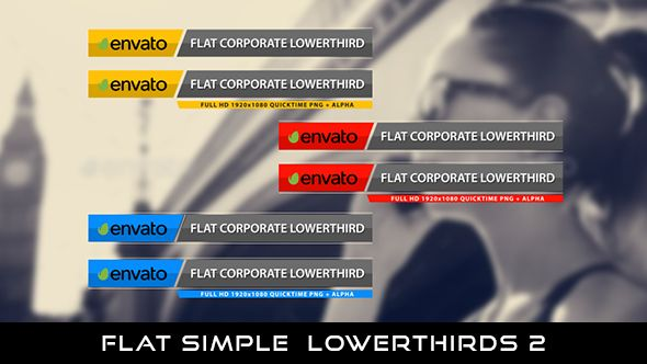 Flat Corporate Lowerthird 2  6 Lowerthirds   Full HD 1920×1080   Quicktime PNG alpha codec   Each 10 seconds.  #envato #videohive #motiongraphic #aftereffects #animatedlowerthird #broadcast #caption #color #corporate #elegant #flat #modern #presentation #professional #simple #television #text #title #youtube