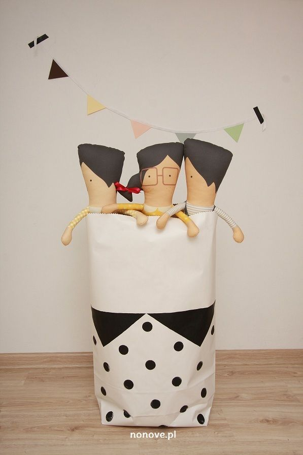 paper bag boy #paperbag #kidsroom #surprise #design #kids #girl