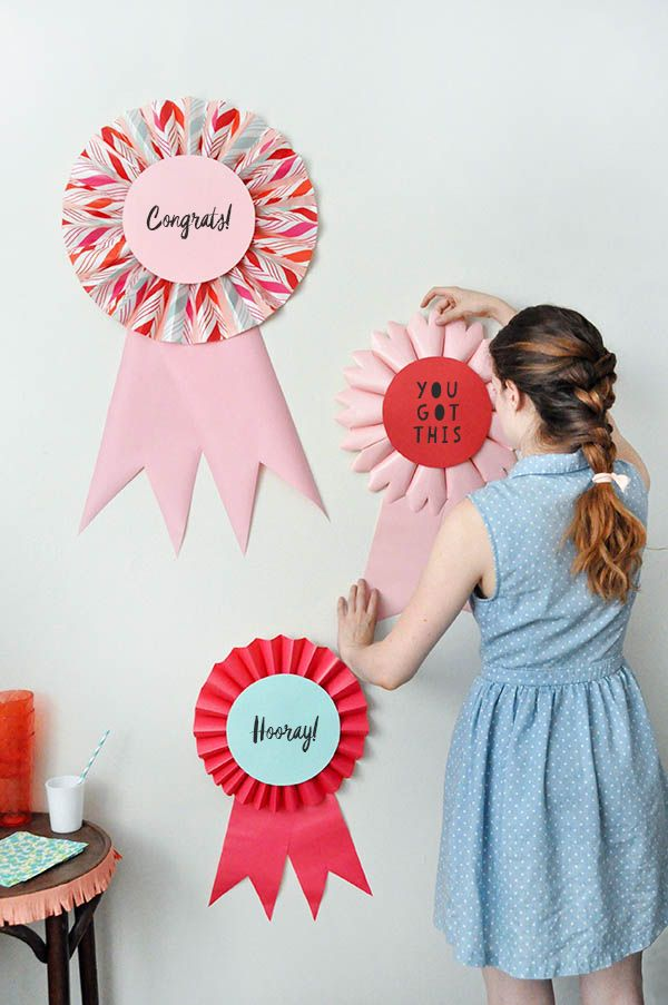 Giant Prize Ribbons | Oh Happy Day! | Bloglovin'
