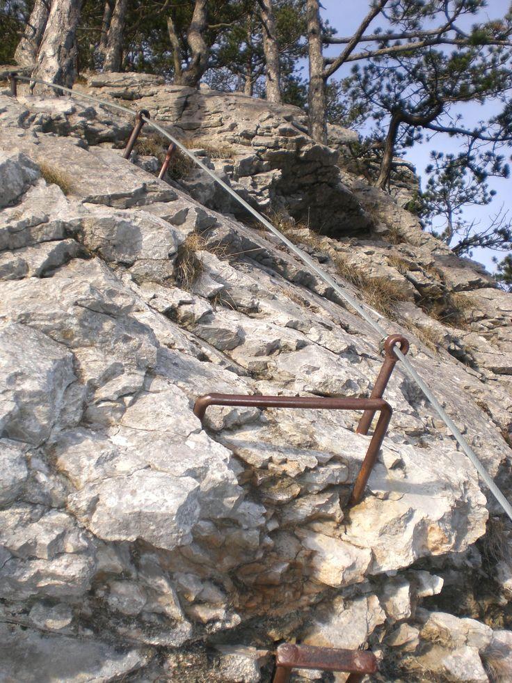 A short but steep ascent