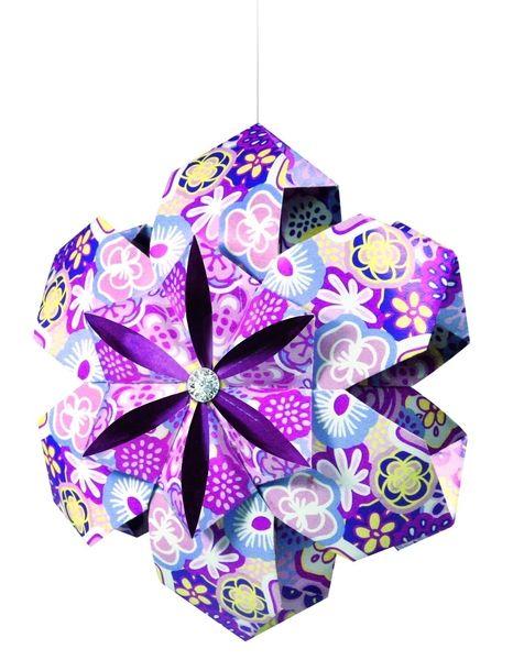 Florucha flower power faltbl tter in 3 designs von prell for Design versand