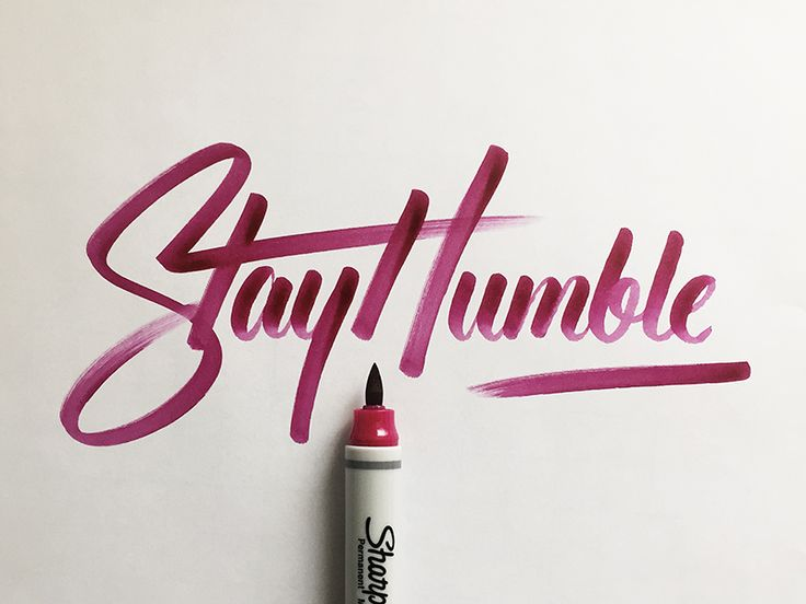 Best images about brush lettering hand