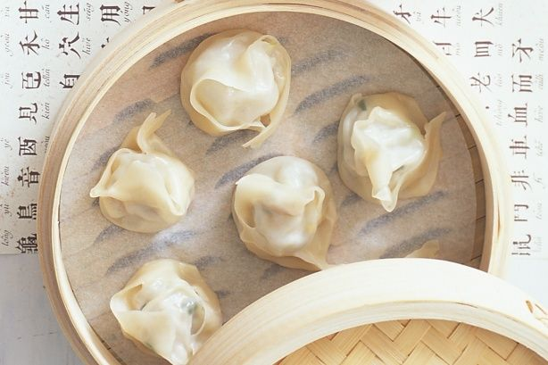 Steamed dumplings Just made these...delish!