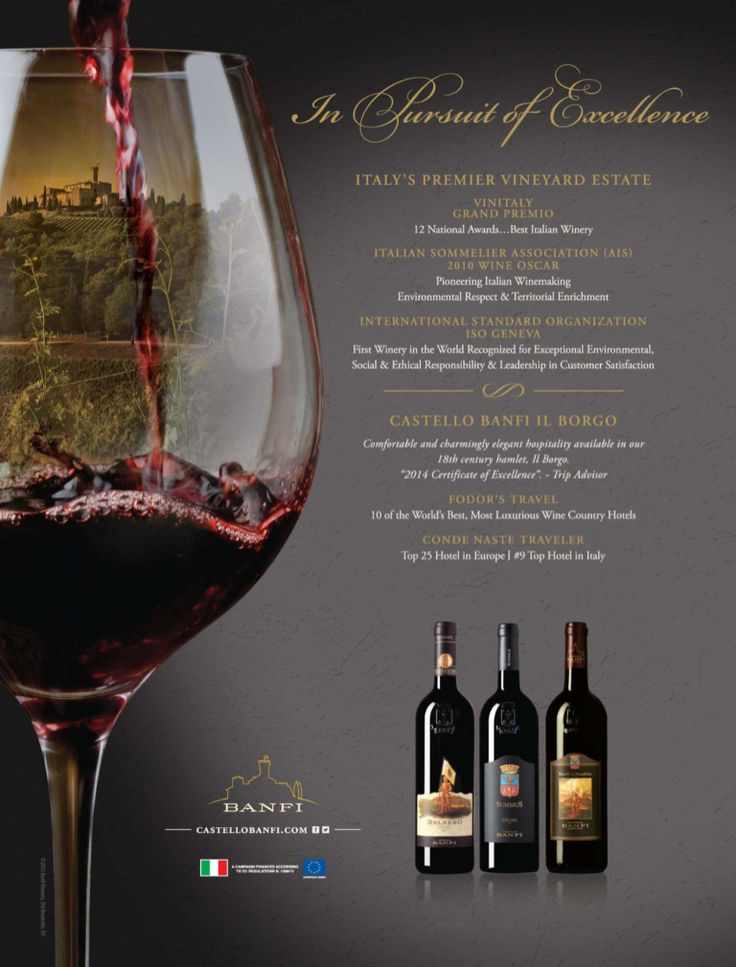 BANFI #wine #advertisement
