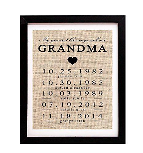 Gift for Grandma, Personalized Gift for Grandma, Grandma Birthday Gift, Mothers Day Gift for Grandma, To Grandma From Granddaughter, Grammy Gift - http://centophobe.com/gift-for-grandma-personalized-gift-for-grandma-grandma-birthday-gift-mothers-day-gift-for-grandma-to-grandma-from-granddaughter-grammy-gift/ -