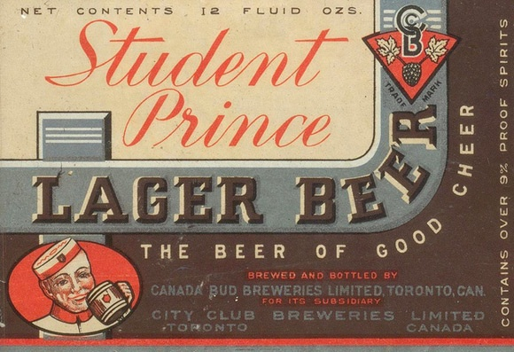 Thomas Fisher Rare Book Library http://www.flickr.com/photos/thomasfisherlibrary/sets/72157628248584395/Prince Lager, Rare Book, Fisher Rare, Vintage Beer, Beer Labels, Thomas Fisher, Book Libraries, Lager Beer, Student Prince
