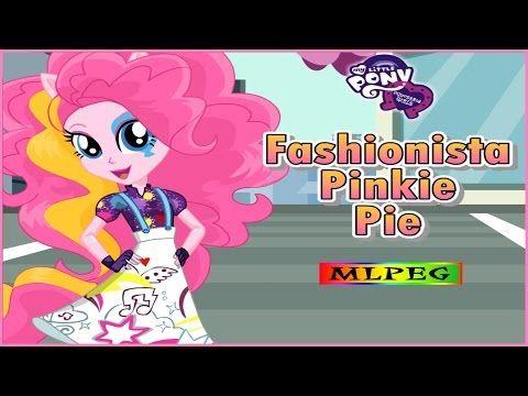 My Little Pony Equestria Girls   Fashionista Pinkie Pie   Dress Up Game ...