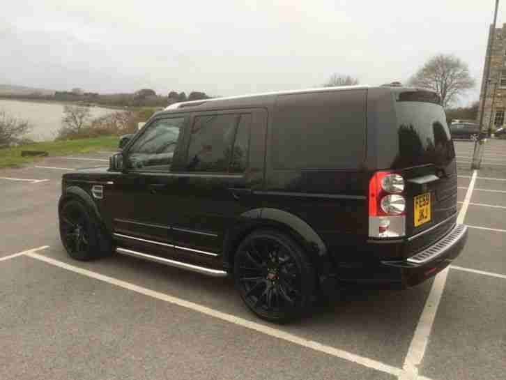 Land Rover Discovery 4 HSE 2009 (59) 3.0 TDV6 Gloss black 22 alloys
