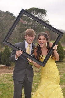 I'd love this for prom but I used this idea for my mom and dad's anniversary pics