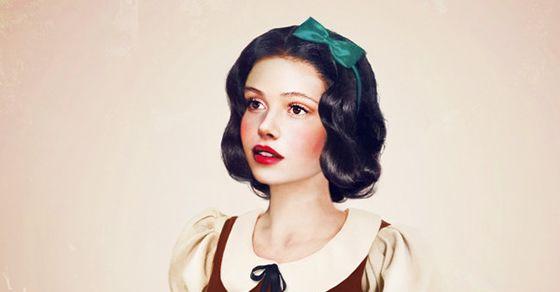 Finnish artist artist Jirka Vinse Jonatan: Real life Disney princesses