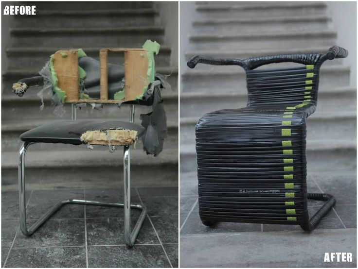 #Bike, #Chair, #InnerTube, #Recycled