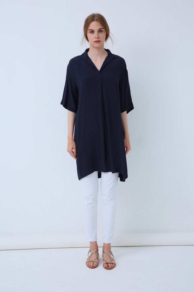 18A8032 - OVERSIZE TUNIC (more colours available)