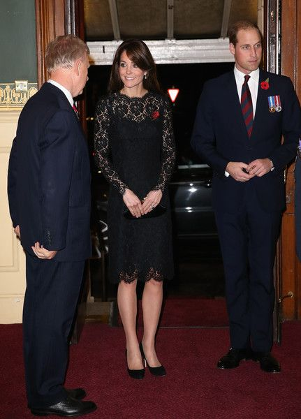 Kate Middleton Photos - The Royal Family Attend The Annual Festival Of Remembrance - Zimbio