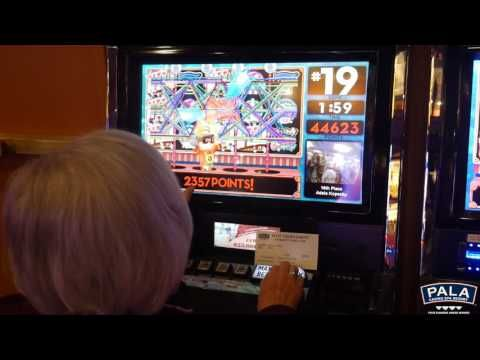 "Check out when our guest Adele hits the ""Money Man"" - sending her straight to 1st Place! #PalaCasino"