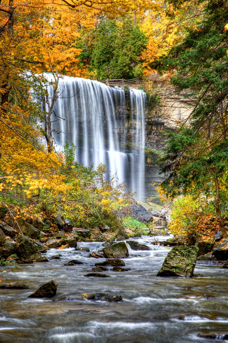 DUNDAS ONTARIO, WEBSTERS FALLS BY MIKE KOVACS