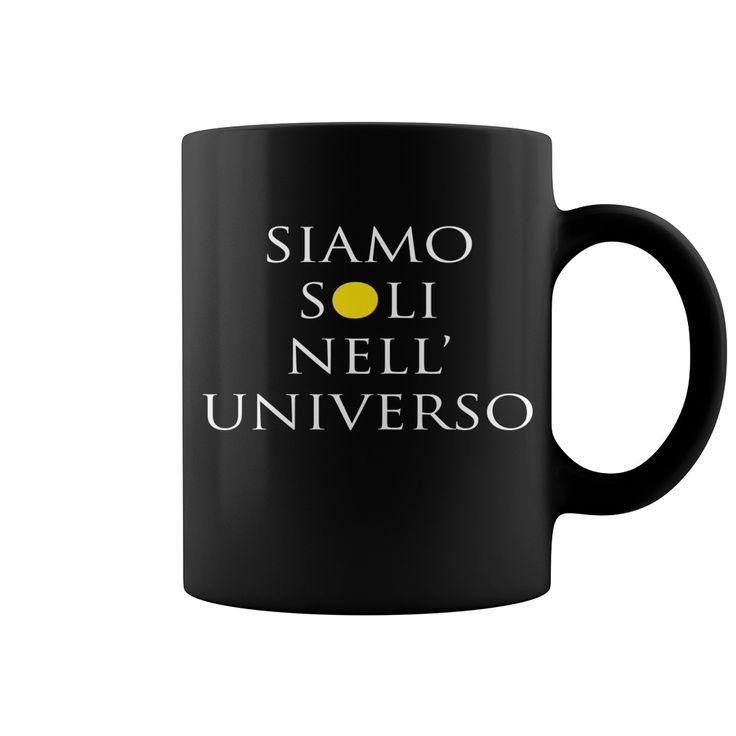 Siamo Soli Nell'universo Coolest Mug : coffee mug, papa mug, cool mugs, funny coffee mugs, coffee mug funny, mug gift, #mugs #ideas #gift #mugcoffee #coolmug