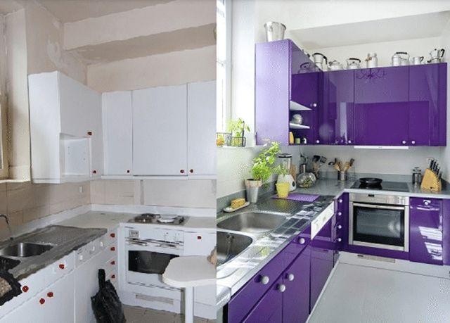 Cómo pintar los muebles de cocina de madera: Pintar los muebles de la cocina