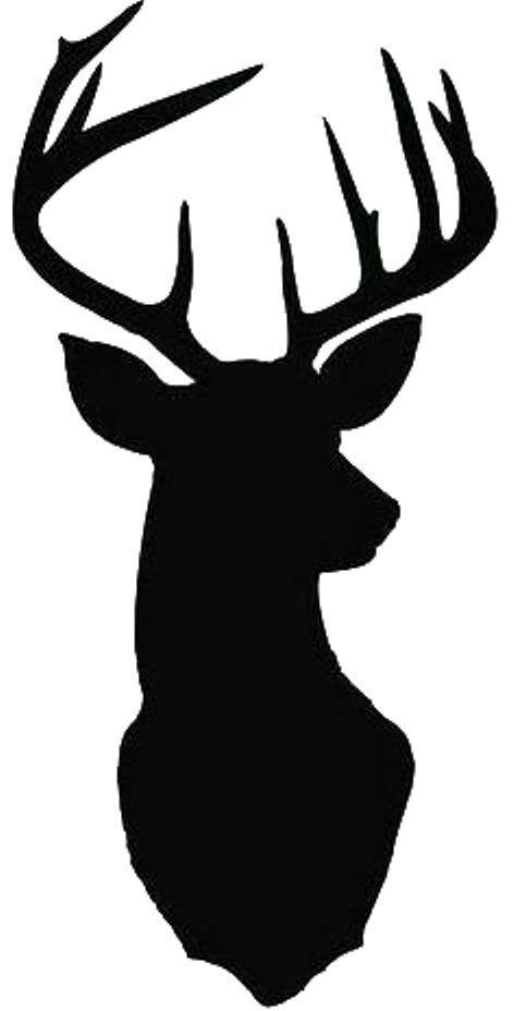 Details about Stag stencil stag head Monarch silhouette Home Decor Wall Art Cushion stencil