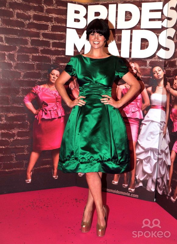 Dawn Porter The Irish premiere of 'Bridesmaids' at the Savoy Cinema, O'Connell street