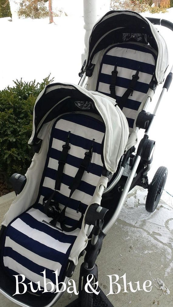 2 City select baby jogger liners and 2 strap pads by bubbaandblue