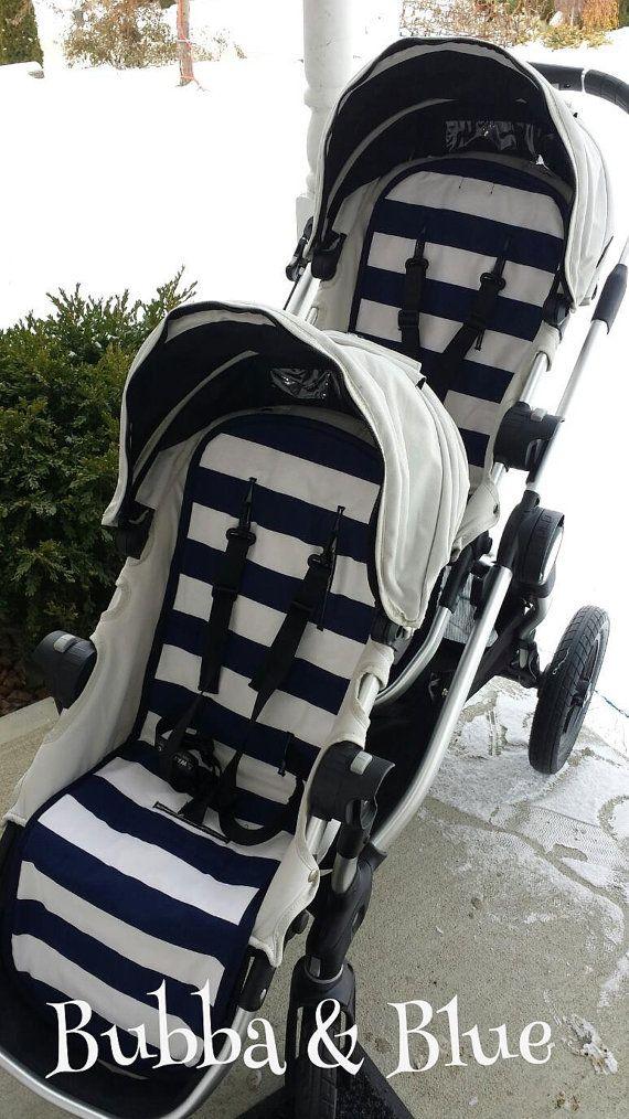 Baby Jogger City Select Stroller liner and 2 strap pads - custom fit stroller liner on Etsy