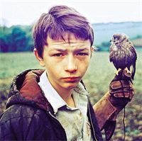 KES- T SHIRT PRINT No2- BILLY CASPER & KES- THE PRINT : This is the full colour print, and is superb, a fantastic Kes image.