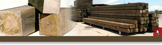 Treated Timbers | American Pole and Timber | 866.397.3038 Industrial Wood Products