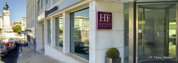 Hotel in Lisbon, Portugal - HF Fénix Garden