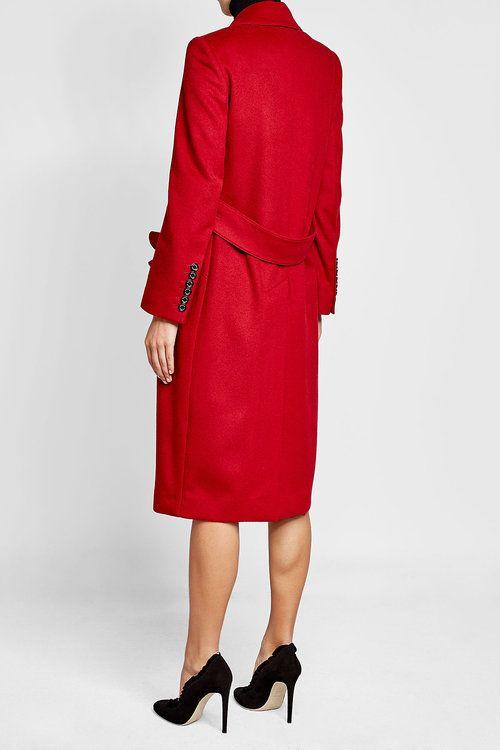 Шерстяное пальто с кашемиром |  барберри