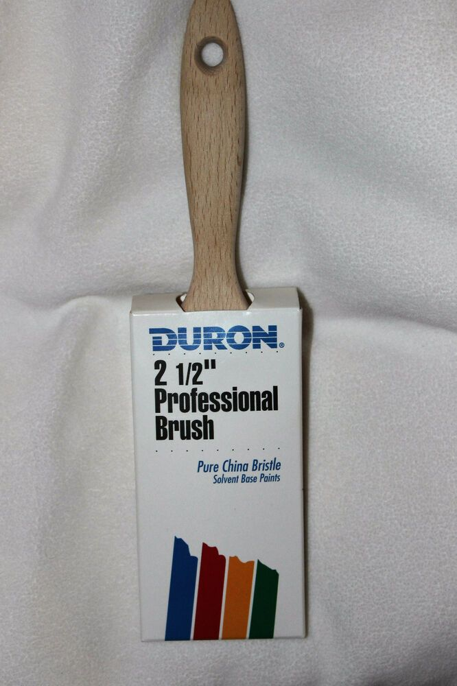 New Duron 2 5 Walnut Professional Pure China Bristle Paint Brush Duronbybesttliebco In 2020 Bristle Paint Brush Pure Products Paint Brushes