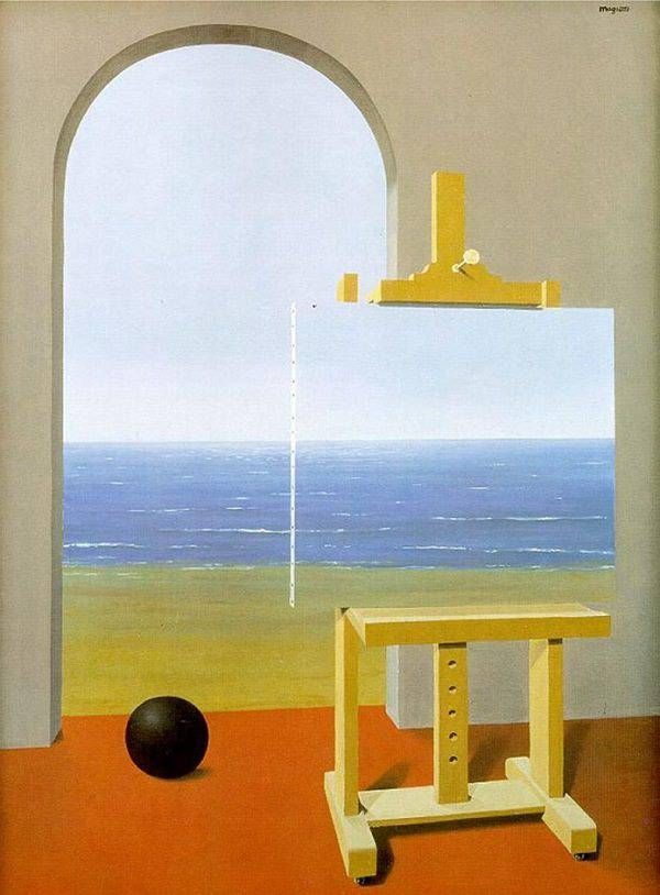 Magritte, The Human Condition II