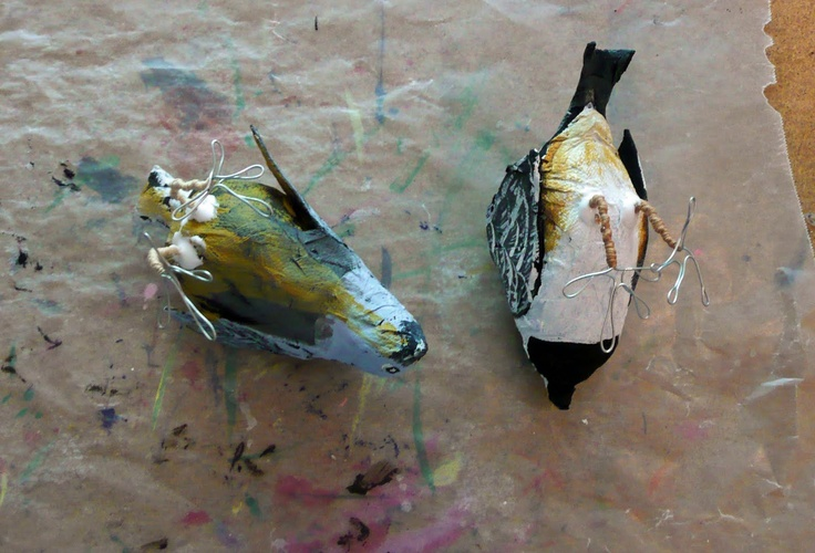 356 best papier mache images on pinterest paper clay for How to make paper mache waterproof