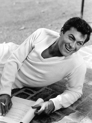 Tony Curtis. Love him in The Defiant Ones, Some Like It Hot, The Black Shield of Falworth, and Sex and the Single Girl.