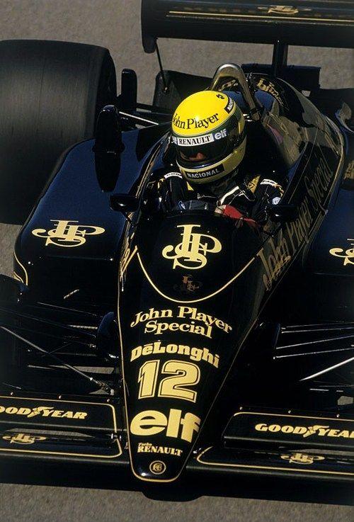 Ayrton Senna - Lotus - Renault - 1986