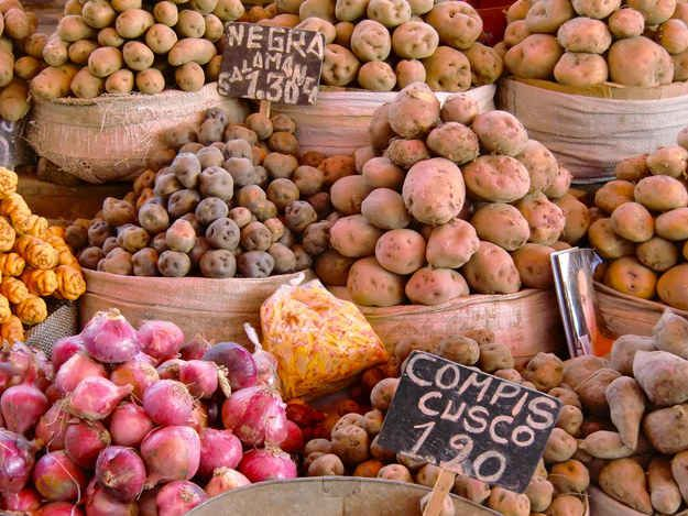 If you're a fan of potatoes, Peru has roughly over 4,000 varieties.