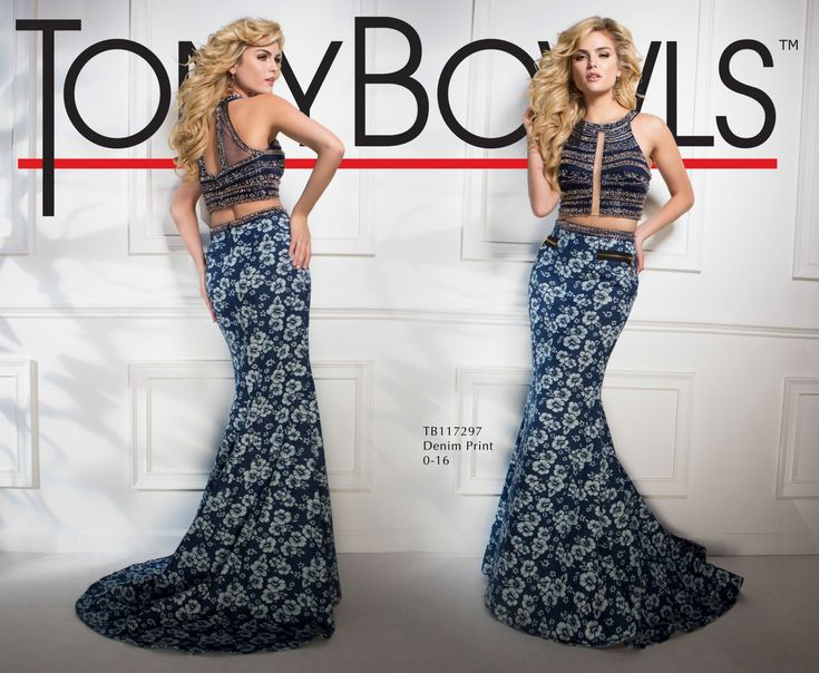 Tony Bowls Style TB117297 - View the Tony Bowls Collection now and contact a retailer near you to order the perfect designer dress for your social occasion!
