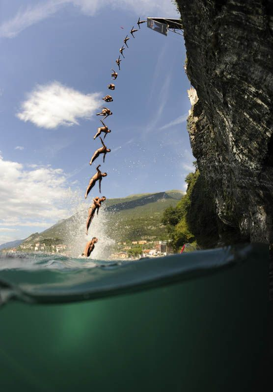 85 best hot cheerleaders images on pinterest college cheerleading hot cheerleaders and - Highest cliff dive ever ...