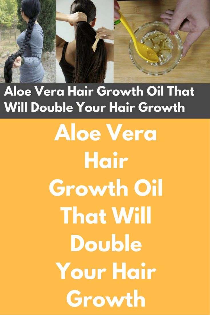 Aloe Vera Hair Growth Oil That Will Double Your Hair Growth Today I am going to share a recipe of aloe vera hair oil that will make your hair super long and strong To prepare this hair oil you will need Aloe vera gel Coconut oil Vitamin E capsules – 2 Preparation: First take aloe vera gel in a bowl, if you do not have fresh …